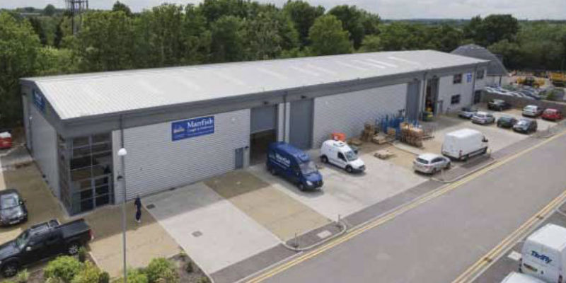 Stansted Distribution Centre Tn